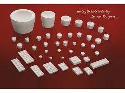 Cupels and Bullion Blocks