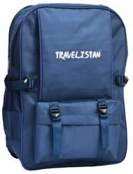 Polyester Backpack Travel Bag, Number Of Compartments: 2, Bag Capacity: 12 To 15