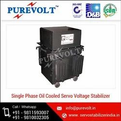 Purevolt Model Name/Number: Svs Oil Cooled Servo Voltage Stabilizer, Floor, 110v-230v Ac