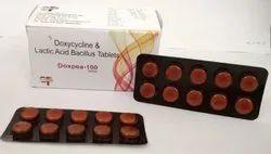 Doxpea-100 Doxycycline and Lactic Acid Bacillus 100mg  Capsule