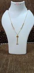 Imitation Daily Wear Fancy Dokia Beads Chain