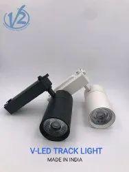 24 W Cool White V-LED Track Light
