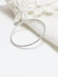 Super Thin Rope Ring