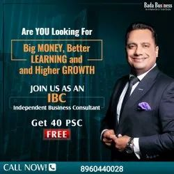 Independent Business Consultant IBC by Vivek Bindra