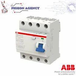 ABB  F204 AC-100   0,1  4Pole  RCCB