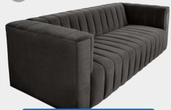 Wooden Modern Designer Sofa Set, Living Room, Size: 7Ft+5Ft