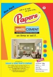 Papers Decorative White Cement