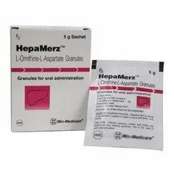 Hepa Merz Granule ( L-Ornithine L-Aspartate Granules )