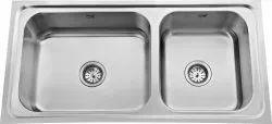 Double Bowl Stainless Steel Modular Kitchen Sink