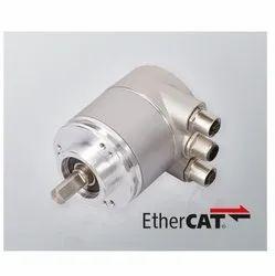 Serie CS10 EtherCat Singleturn Absolute Solid Shaft Encoder