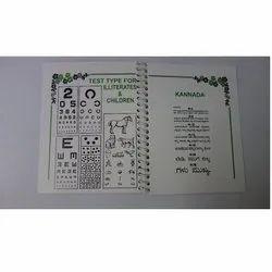 MS-132 Near Vision Test Book
