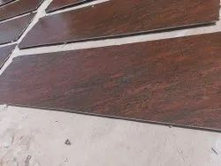 Red Polished Granite Stones, For Flooring, Thickness: 15-20 mm