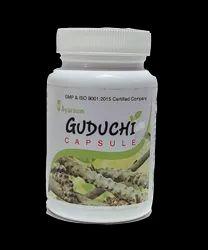 Ayurvedic Herbal Capsule For Immunomodulator - Ayursun Guduchi Capsule, For Personal, Packaging Type: Bottle