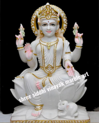 makrana marble Statue Lakshmi Maa