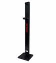 Foot Operated Sanitizer Dispenser Stand - Black