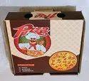 Printed Paper Pizza Box