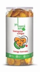 Yummiano Banana Chips - Tangy Tomato, Packaging Size: 175g