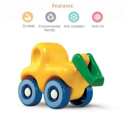 Lldpe Environment Friendly Truck Toy, Child Age Group: 1 To 2 Years