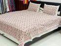Mughal Flower Printed Bedsheets