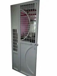 Mild Steel MS Safety Door, For Residential