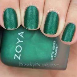Green Zoya Imported Nail Polish Honor