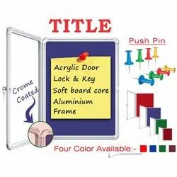 Pin Up Board with Cover