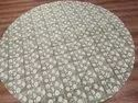 Hand Block Printed  Floral Design Table Cover
