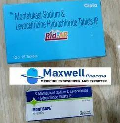 Montelukast Sodium And Levocetirizine Tablet