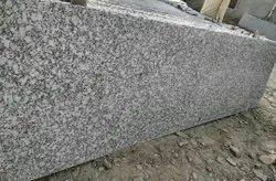Polished P White Granite Slab, For Flooring, Thickness: 15 mm