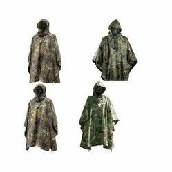 Military Ripstop Poncho