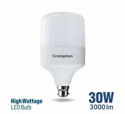 Crompton High Wattage LED Bulb, For Home, 30W