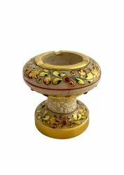 Marble ashtray 3 inches tall