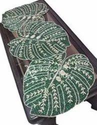 Leaf Design Table Runner