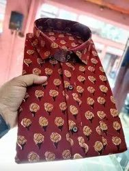 Red Color Pure Cotton Shirt