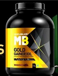 MuscleBlaze Gold Gainer XXL Mass Gainer, 6lbs, Prescription