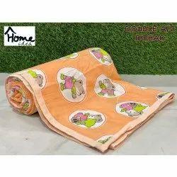 Orange Double Bed AC Dohar Blanket