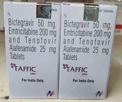 Bictegravir 50 mg Emtricitabine 200 mg And Tenofovir Alafenamide 25 mg Tablets