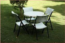 Wonderplast Garden Round Table Set
