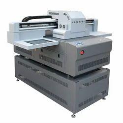 DG-6090 UV Flatbed Glass Bottle Printer, For Printing