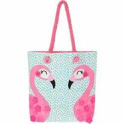 Rama Enterprises Fabrick Canvas Tote Bags, Size/Dimension: 12x14 Inch
