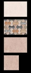 Gloss Rectangular 8MM Ceramic Bathroom Tile, Size: 300x600MM