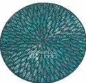 Gorgeous Blue Beaded Placemats