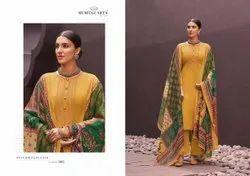 Cotton Unstitched Karchi Mumtaz Arts Naadirah Hitlist, Machine Wash
