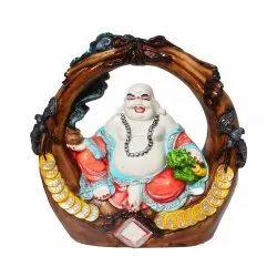 Polyresin Laughing Buddha Statue / Showpiece