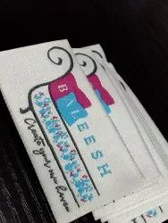 Custom fabric labels for clothing