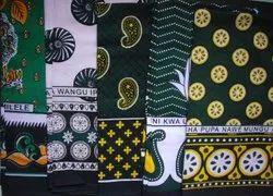 Cotton African Khanga, Multicolour
