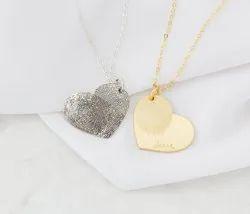 Custom Fingerprint Necklace