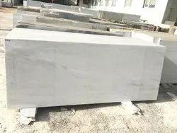 Arna Plain White Marble