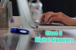 Class 3 Digital Signature Certificate Service