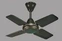White, Brown & Cream 24 Inch Paradise High Speed Ceiling Fan, Fan Speed: 900 Rpm, Power: 65 Watts